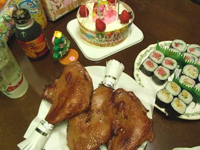 我が家のクリスマスディナー